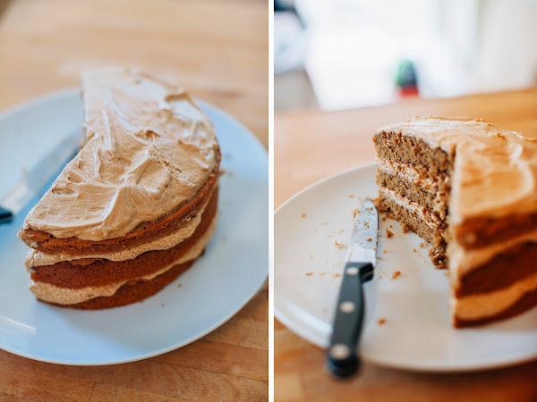 Coffee Cappuccino Cake Recipe!