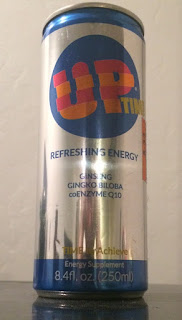 A can of Up Time Energy Drink, from Big Lots