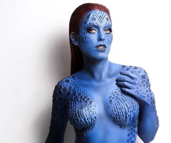 Nadyasonika con su cosplay de Mystica
