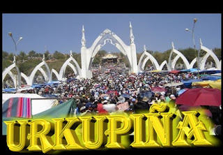 Fiesta de la virgen de Urkupiña