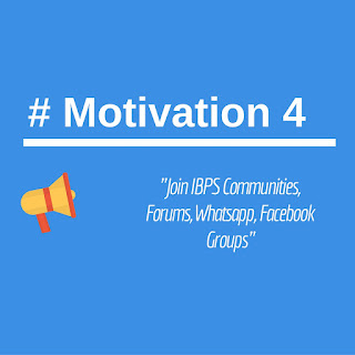 Join IBPS Communities/Forums/Whatsapp/Facebook Groups