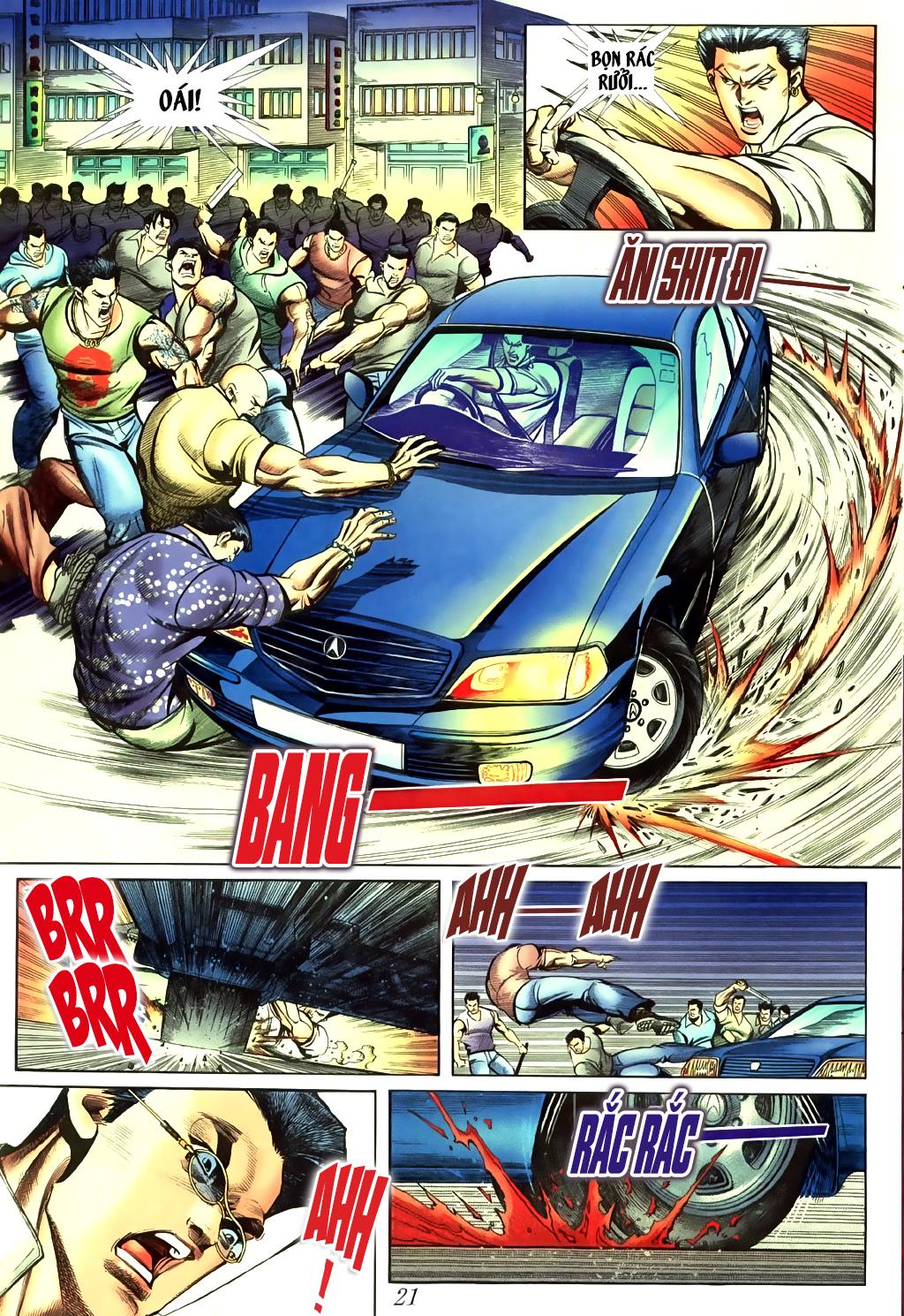 Người Trong Giang Hồ chapter 430 trang 15