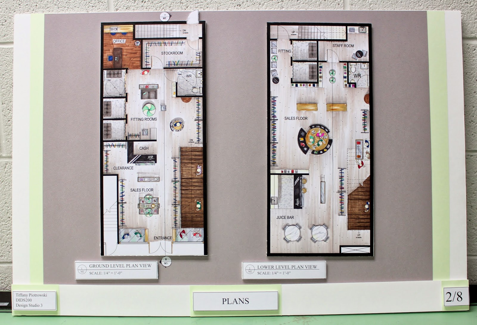 Tiffany Leigh Interior Design Term Four Final Project
