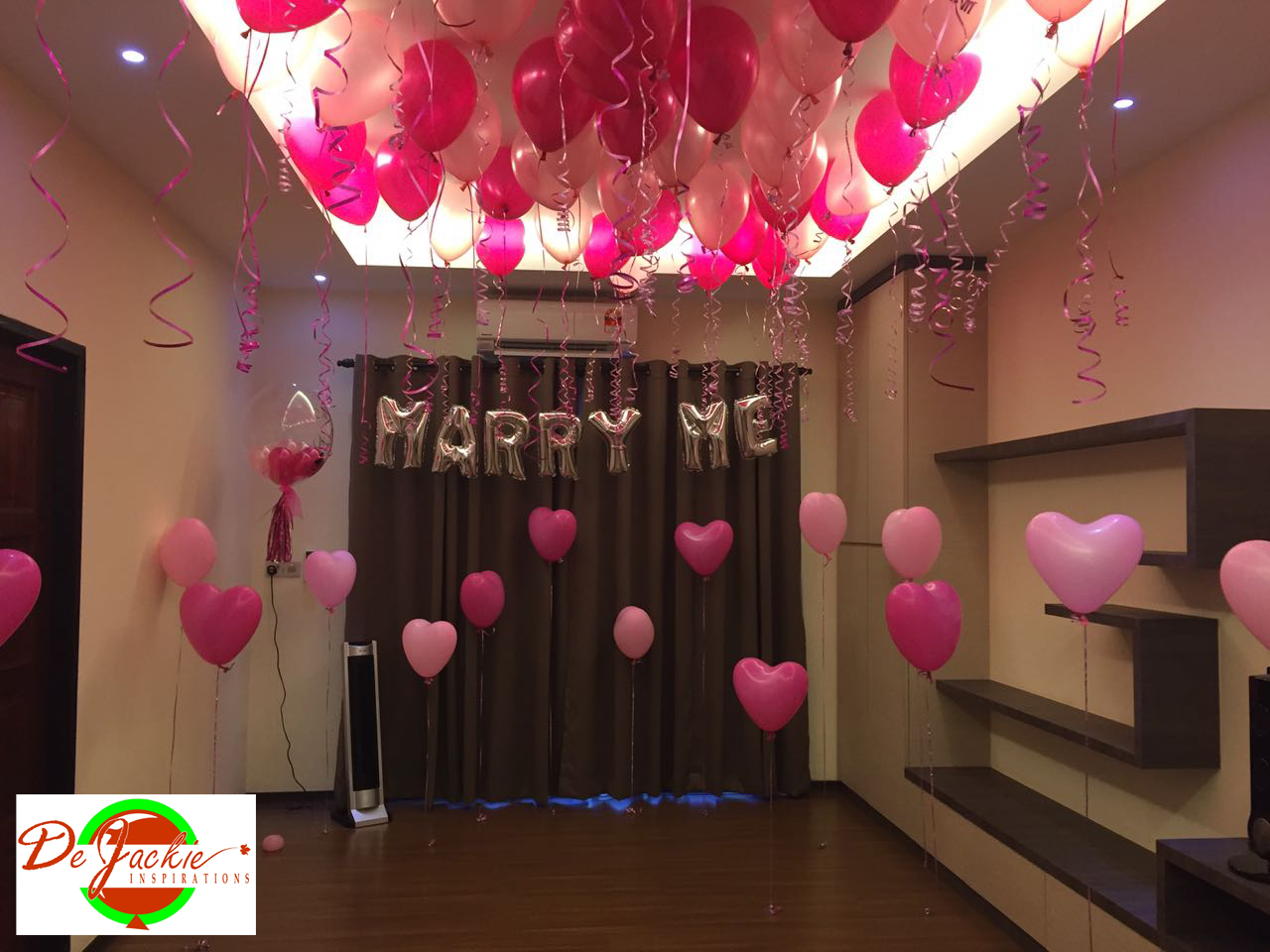 Balloon decorations for weddings birthday parties balloon proposal balloon set up junglespirit Image collections