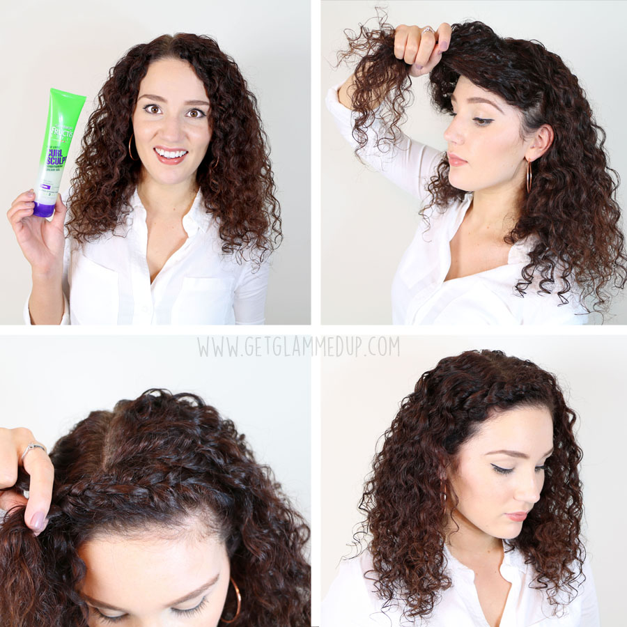 Miraculous 7 Easy Hairstyles For Curly Hair Weekly Change Ups With Garnier Hairstyle Inspiration Daily Dogsangcom