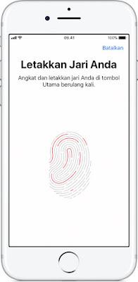 Cara Mengaktifkan Touch ID di iPhone