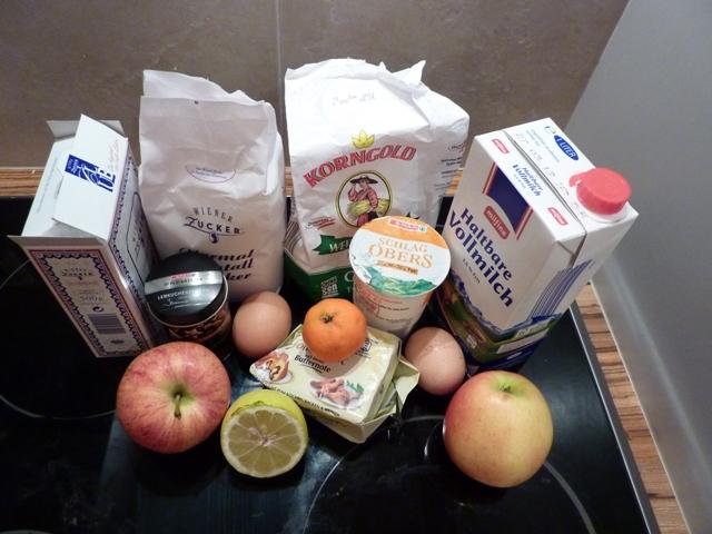 Zutaten Lebkuchen-Crêpes