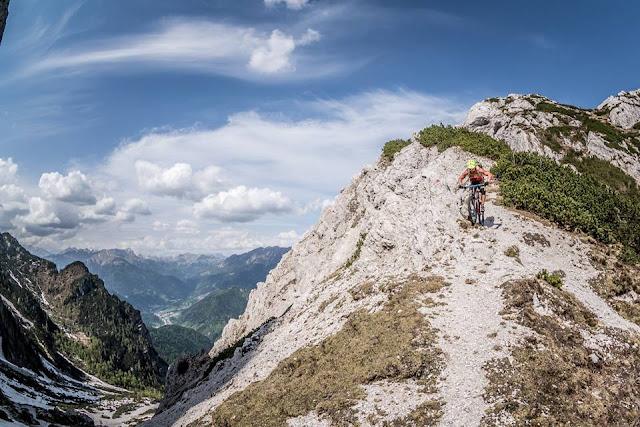 MTB - Monte Flop, Moggio - Val Aupa Mountainbike Tour Friaul Julische Alpen
