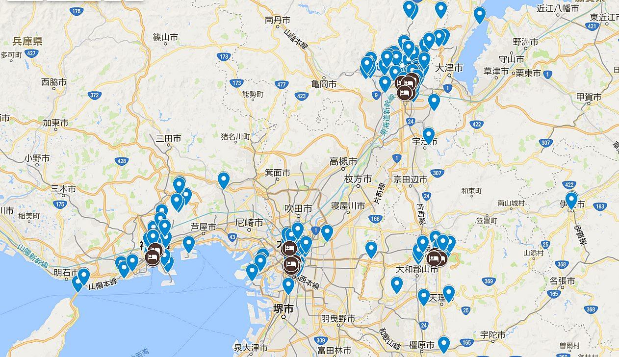 日本-關西-大阪-京都-神戶-奈良-景點-推薦-美食-交通-住宿-優惠券-自由行-旅遊-必玩-必去-必遊-行程-地圖-Map-Osaka-Kyoto-Kobe-Nara-Tourist-Attraction-Travel-Japan