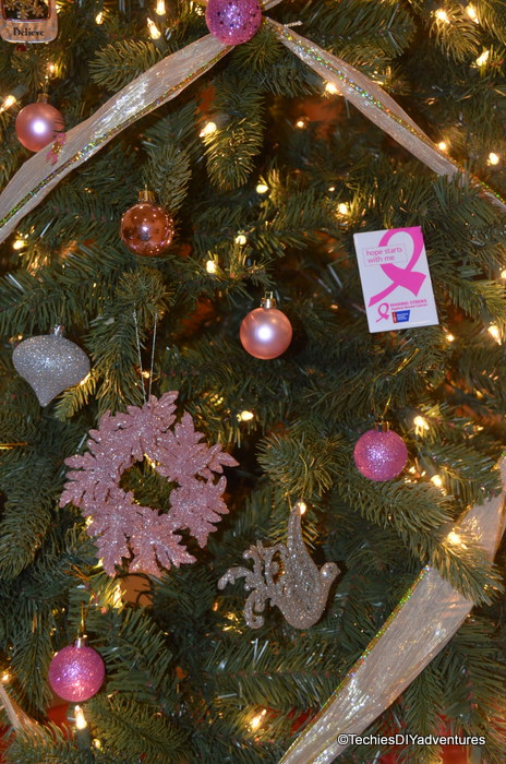 Pink and Silver Ornaments