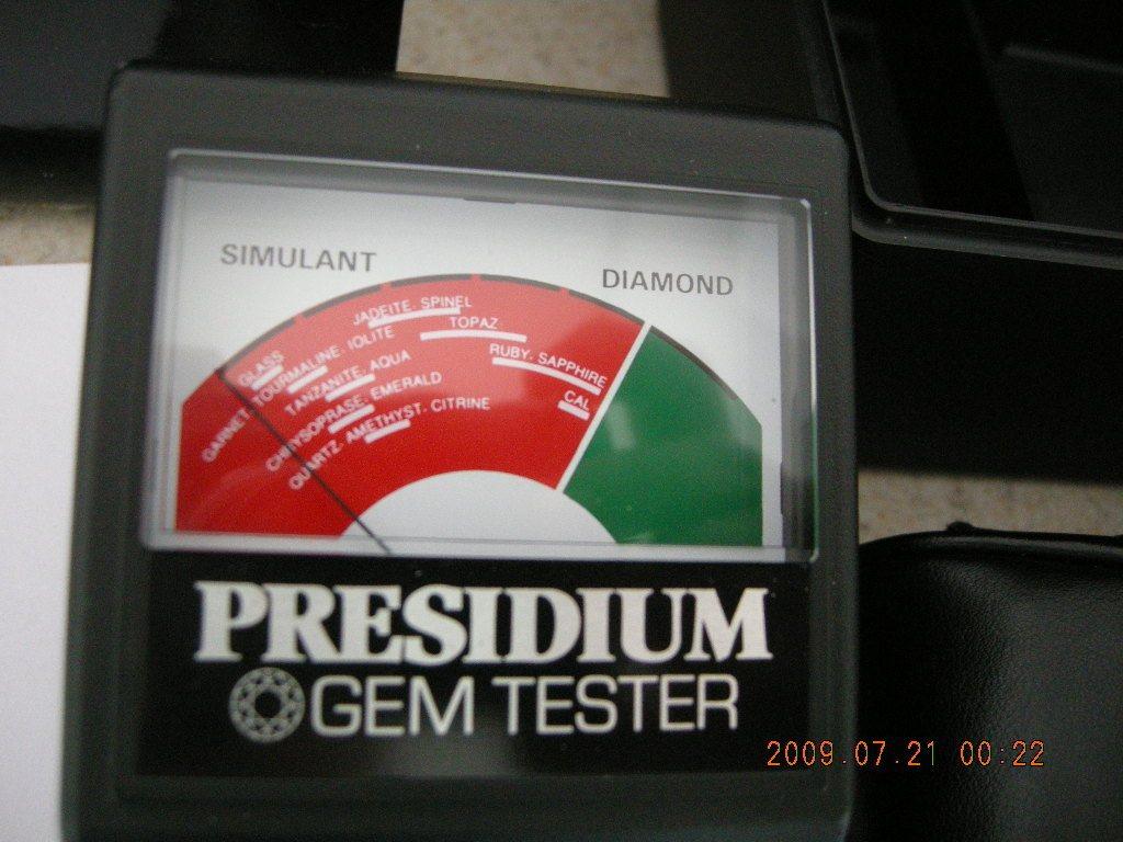 Presidium Gem Tester Gems And Jewelry