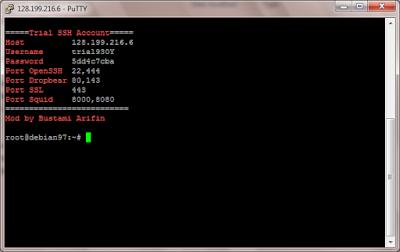 Script Auto Install SSH untuk VPS Debian 9 64 bit
