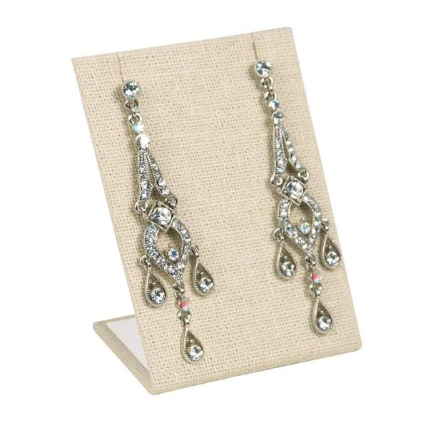 Shop Wholesale Linen Earring Display Stand at Nile Corp