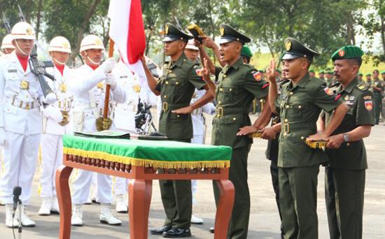 Penerimaan Tamtama PK TNI AD TA 2017