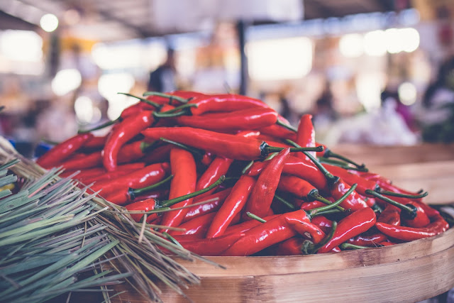 Comer chile protege contra el colesterol y libera la hormona del placer