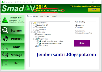 Download SmadAV Pro Rev 10.8.2 Full Version Serial Key Terbaru 2016