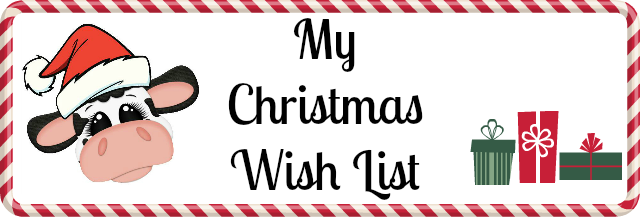 Christmas, Wish List, Stampin'UP!
