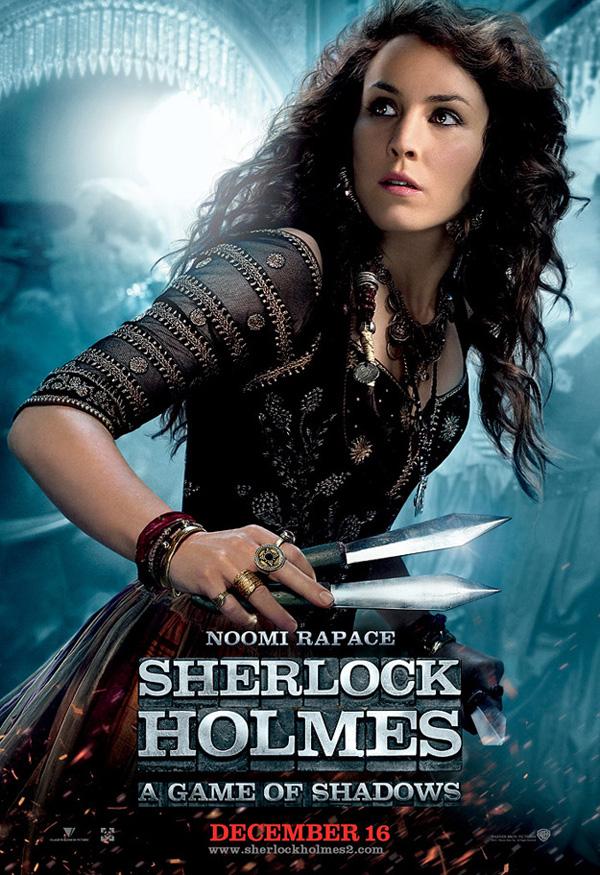 Noomi Rapace en Sherlock Holmes juego de Sombras