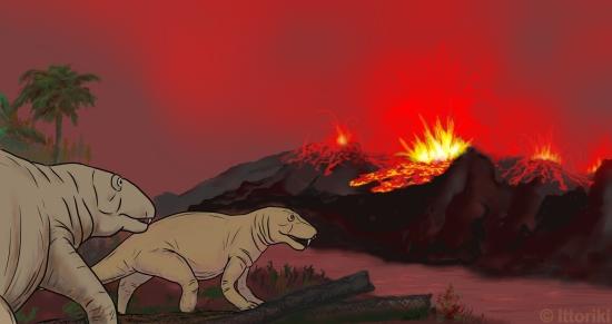 ペルム紀/三畳紀境界、三畳紀/ジュラ紀境界の大量絶滅
