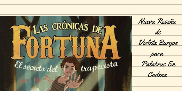 Una reseña de Violesta Brugos, que a sus 12 años, reseña de maravilla. Esta vez A javier Ruescas.