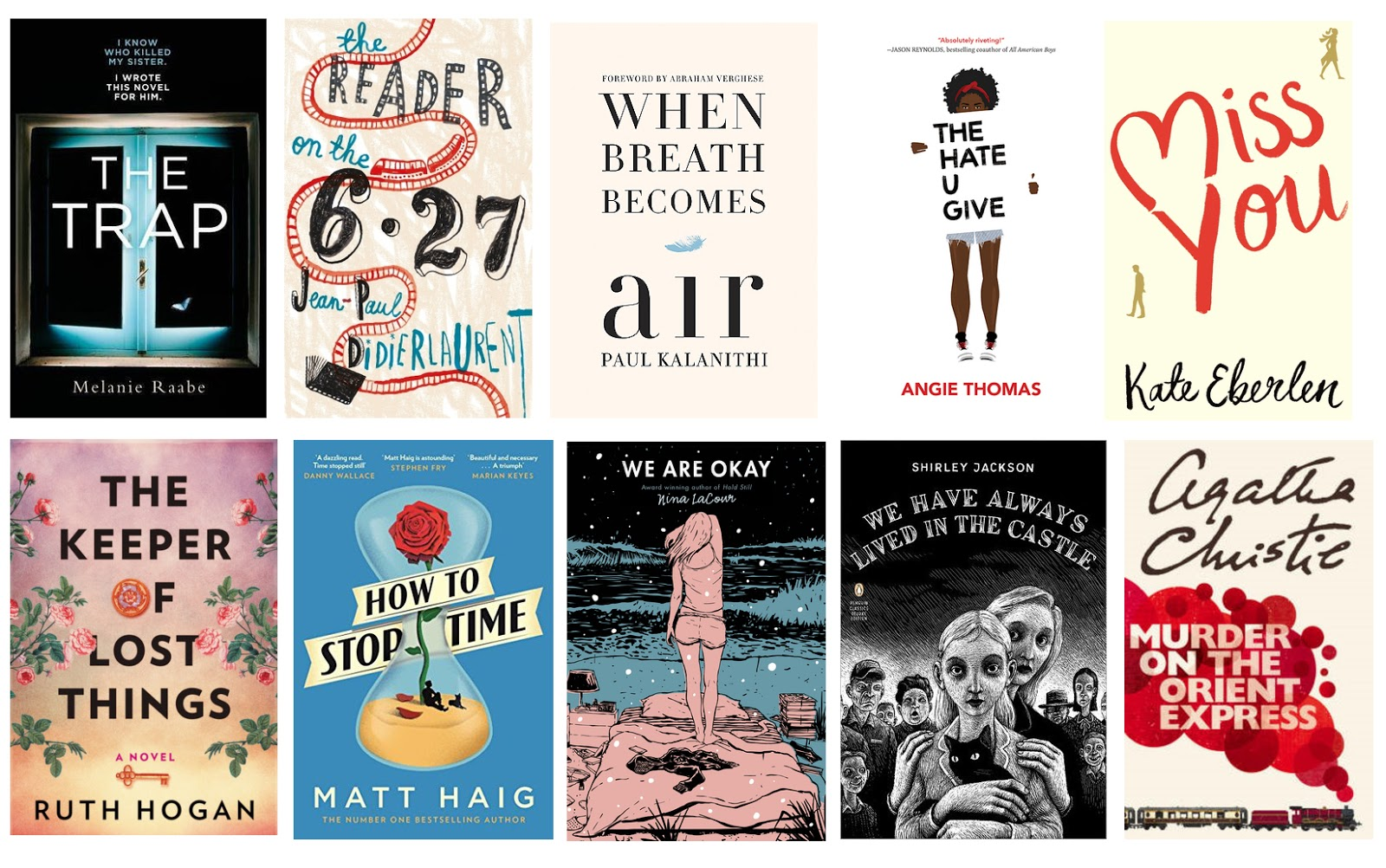 Goodreads My Top 10 Books Of 2017 Hollie In Wanderlust