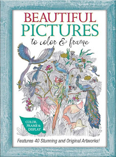 Beautiful Pictures to Color and Frame: Features 40 Stunning and Original Artworks!