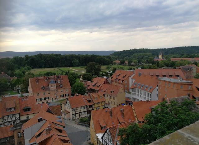 Quedlinburg - Blick vom Schlossberg