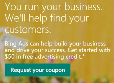 Cupón Gratis Bing Ads 2