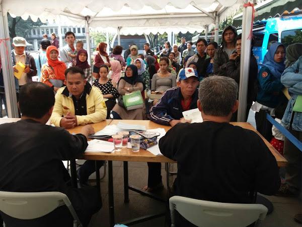 Layanan Mobil Mepeling Disdukcapil Kota Bandung