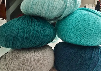 yarn colors for a striped Reyna