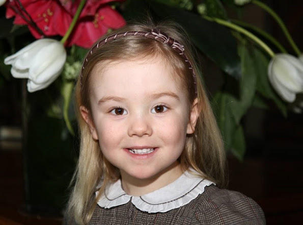 Dutch Princess Ariane celebrates her 9th birthday. Princess Ariane was born in the Bronovo Hospital in The Hague