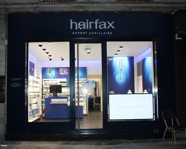 la boutique parisienne Hairfax expert capillaire