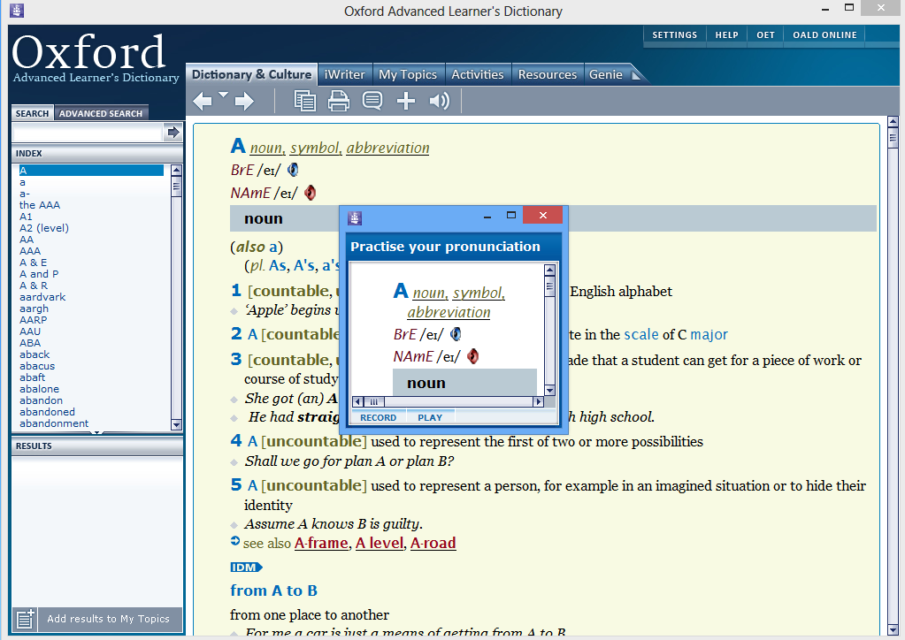The Oxford Dictionary for Windows 10 - Free download and