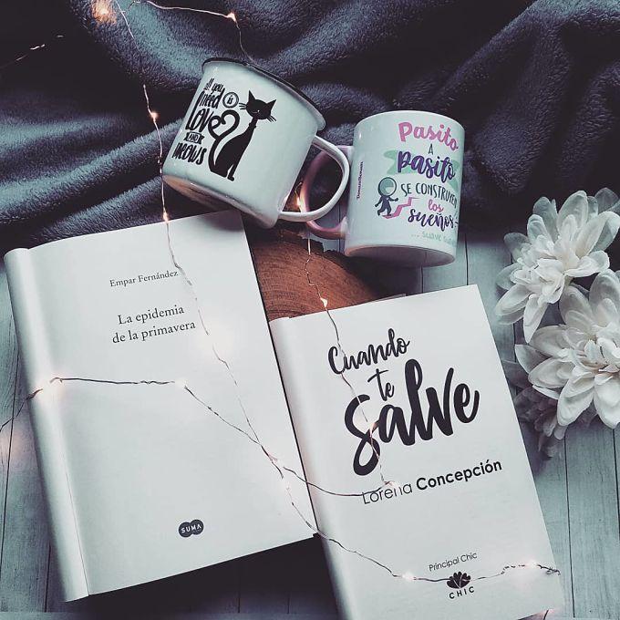 Foto del libro La epidemia de la primavera de la autora Empar Fernandez