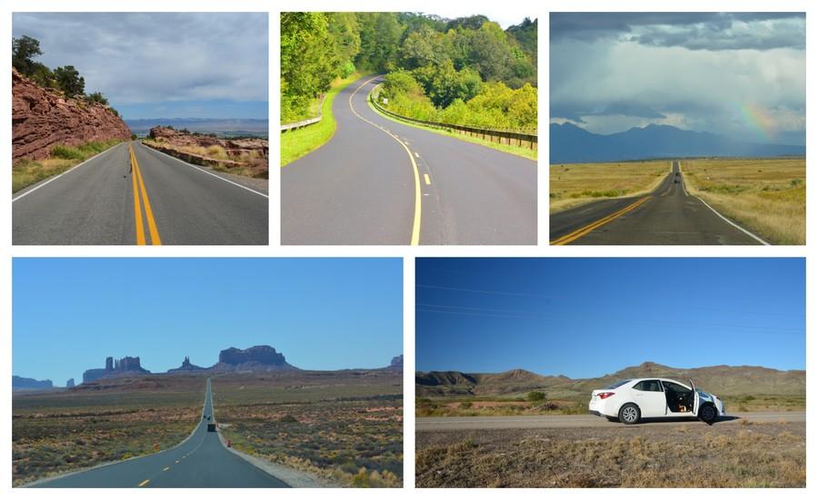 routes scéniques road trip USA