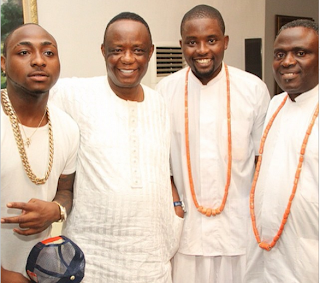 davido olu warri son wedding