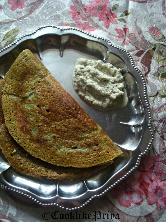 Cook Like Priya Andhra Pesaruttu Dosa Green Moong Dal