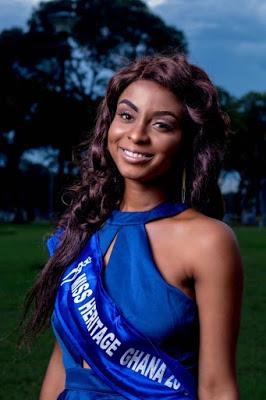 Selassie Dzanta To Represent Ghana At Miss Heritage Global