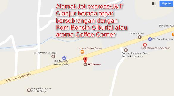 Alamat Kantor J&T/ Jet Express Cianjur Bagi Yang Belum Tau !