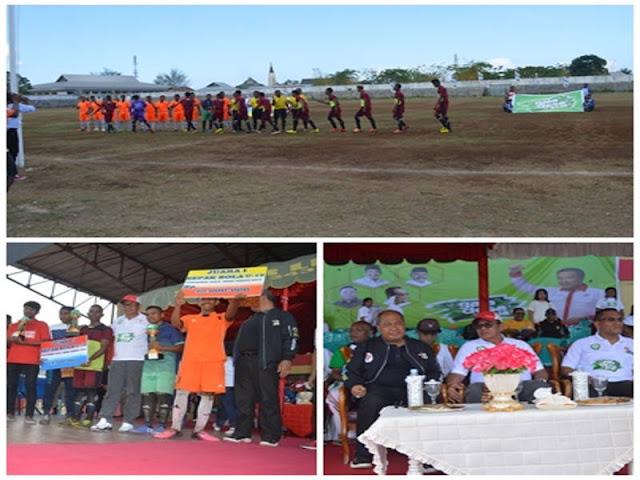 Muhamad Taher Hanubun Tutup Gala Desa 2018 di Stadion Maren Langgur