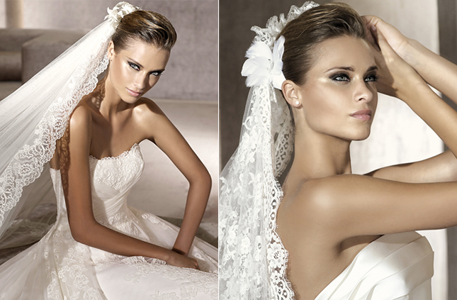 Chic Wedding Accessories: Headpieces And Veils By