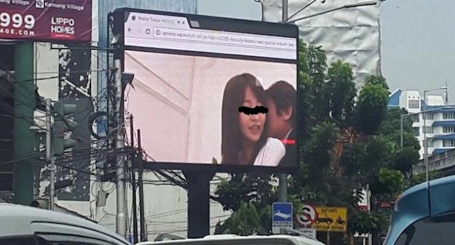 Polda Metro Jaya Berhasil Ringkus Pelaku Penayang Film Porno Pada Videotron Di Kebayoran Baru, Jakarta Selatan