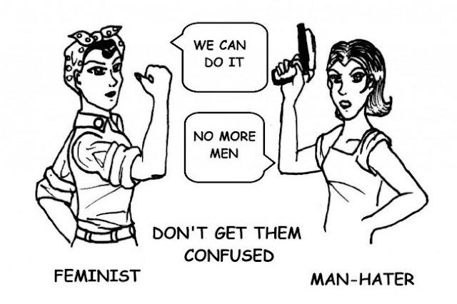 feminism vs man hater