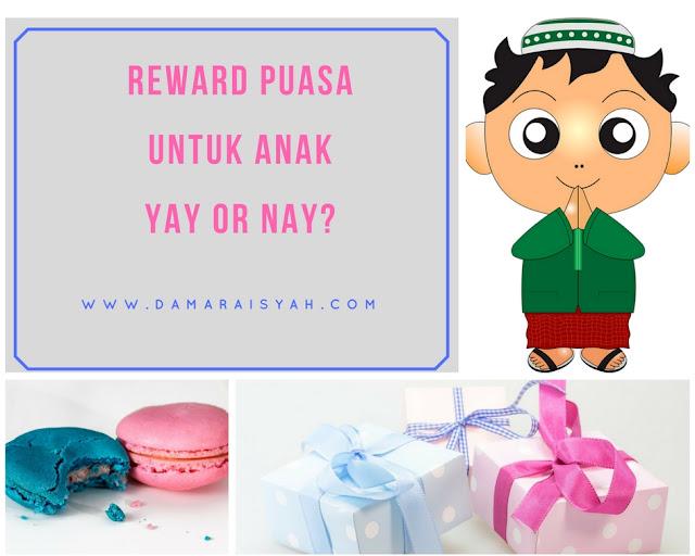 Rewards puasa untuk anak