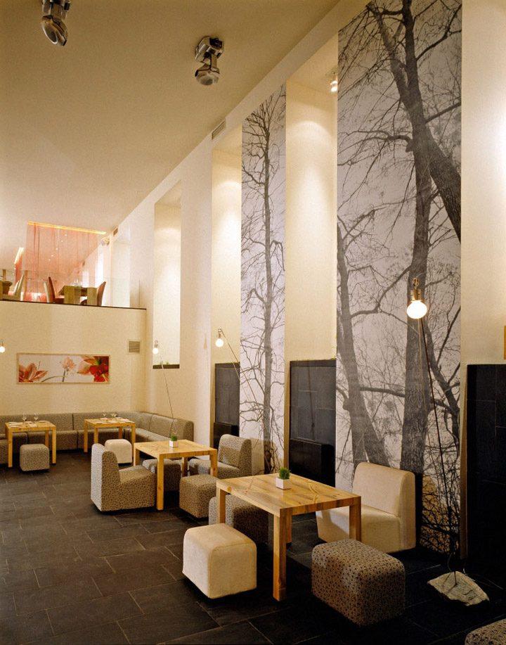 thiết kế nội thất quán cafe độc đáo 5