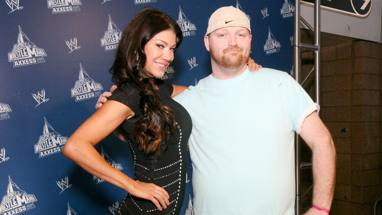 Rosa Mendes With Boyfriend New Images 2013 | All Wrestling ...