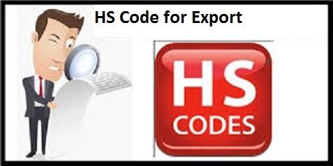 Harmonized System Codes