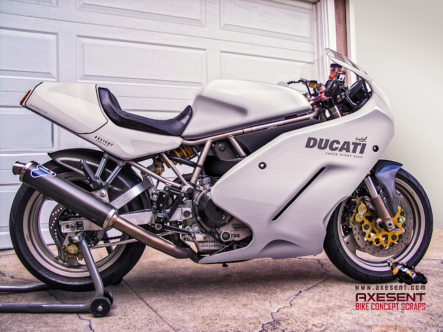 Axesent Graphic Engineering - Ducati 900 SS Styling Undate