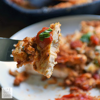 Skillet Chicken Parmesan Recipe