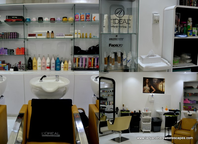 Al Marasim salon's hair products